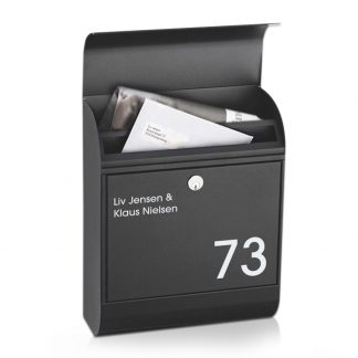 Navneskilt til postkasse - DUO