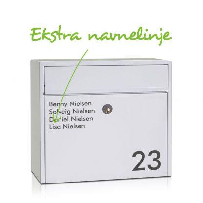 Ekstra navnelinje