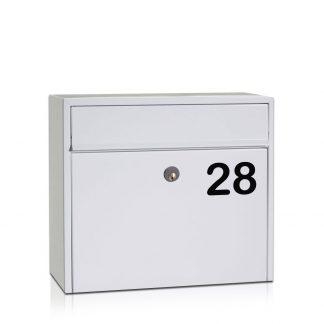 Husnummer til postkasse